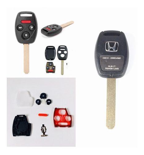 Carcasa Botones Llave Honda Accord