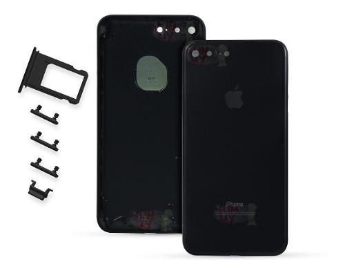 Carcasa Tapa Trasera iPhone 7 Plus Porta Sim Botones A