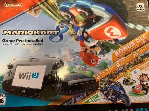 Consola Nintendo Wii U Con Mario Kart 8 Deluxe Set 32gb