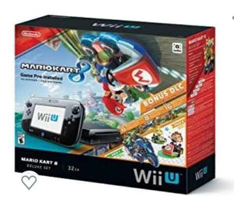 Consola Wii U Mario Kart 8 Nueva