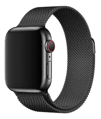 Correa Apple Watch Acero Milanese mm Iwatch J12