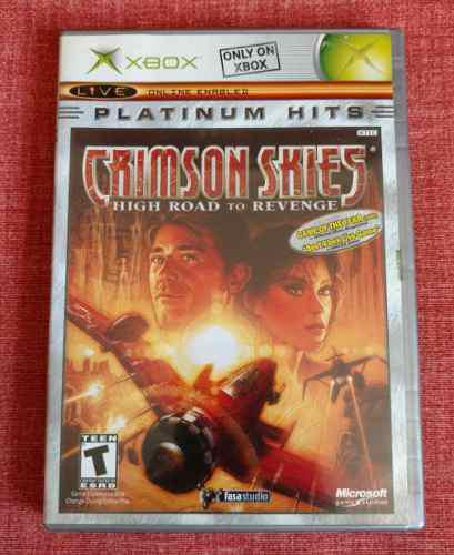 Crimson Skies High Road To Revenge Xbox Clásico