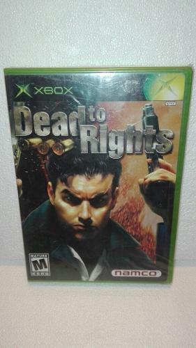 Dead To Rights Xbox Clasico Nuevo