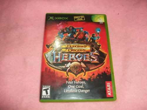Dungeons And Dragons Heroes Para X Box Clasico