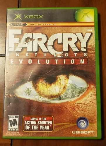 Farcry Instincts Evolution Xbox Clasico