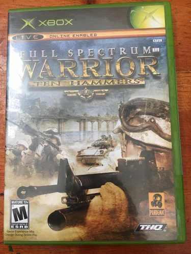 Full Spectrum Warrior Ten Hammers Xbox Clásico