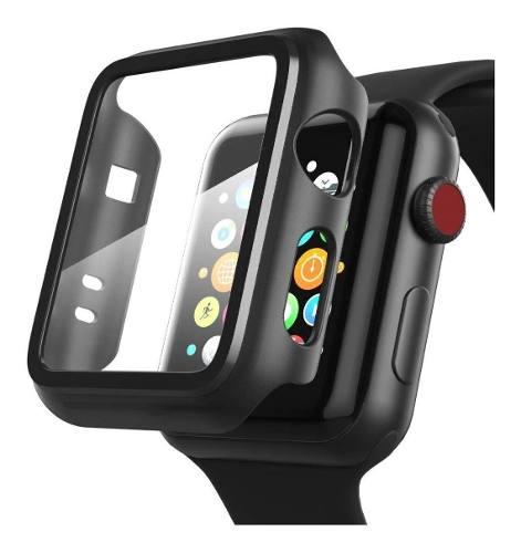 Funda De Lujo Con Proteccion En Pantalla 9h Para Apple Watch