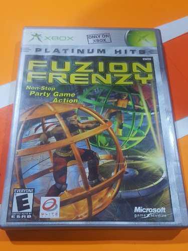 Fusión Frenzy Xbox // Xbox Clásico /compatible Con Xbox