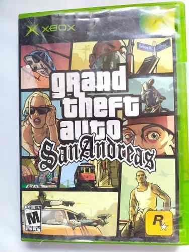 Grand Theft Auto San Andreas Xbox Clasico