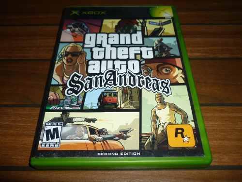 Grand Theft Auto San Andreas Xbox Clásico