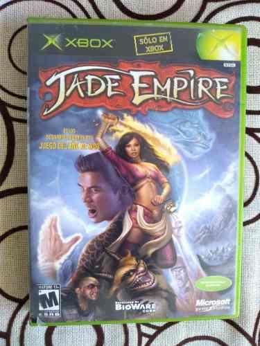 Jade Empire Original Para Xbox Clásico