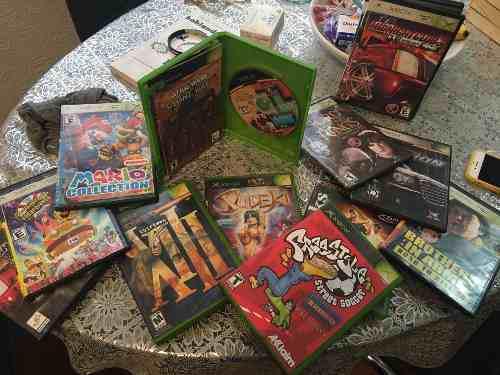 Lote De Juegos De Xbox Y Discos Originales