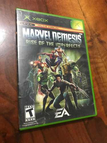 Marvel Nemesis Rise Of The Imperfects Xbox Clasico