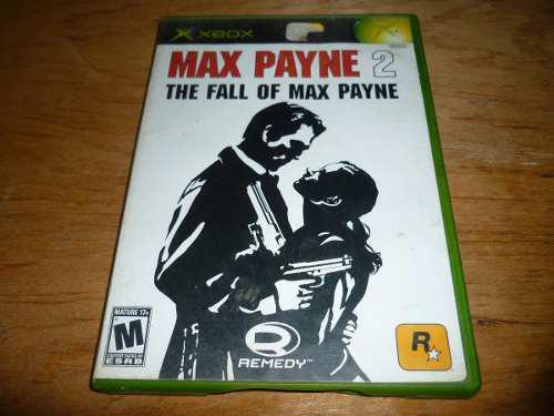 Max Payne 2 The Fall Of Max Payne Xbox Clasico
