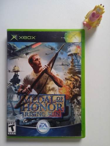 Medal Of Honor Rising Sun Xbox Clásico:) Garantizado