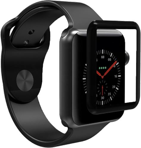 Mica Cristal Templado Apple Watch 42mm Curvo 3d Full Glue