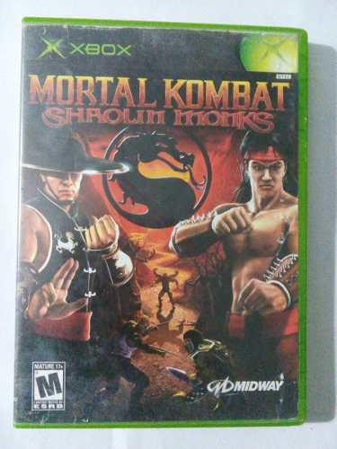 Mortal Kombat Shaolin Monks Xbox Original Clasico