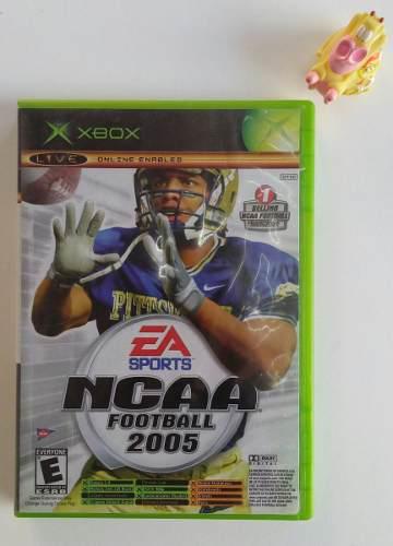 Ncaa Football 2005 + Top Spin Xbox Clásico Garantizado!!