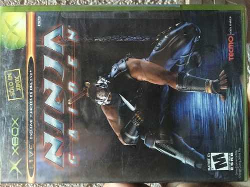 Ninja Gaiden Para Xbox Clasico, Nuevo, Sellado De Fabrica.