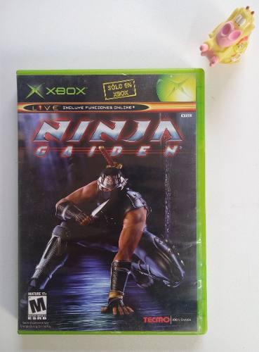 Ninja Gaiden Xbox Clásico Garantizado:)