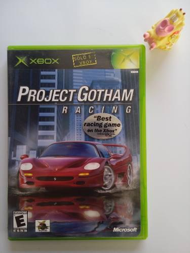Pgr Project Gotham Racing Xbox Clásico Garantizado:)