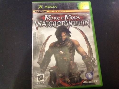 Prince Of Persia Warrior. Juego Xbox Clasico