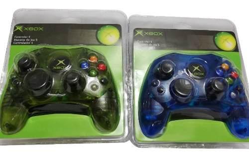 Set De 2 Controles Para Consola Xbox Clásico Varios Colores