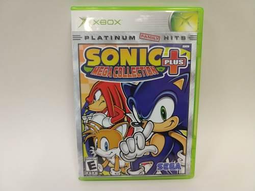 Sonic Mega Collection Plus Xbox Clasico Juegazo Animate!!!
