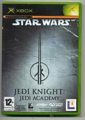 Star Wars Jedi Knight: Jedi Academy Xbox Clasico-----mr.game