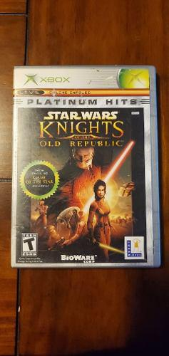 Star Wars Knights Of The Republic Xbox Clasico