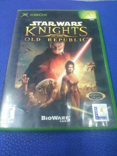 Star Wars.knights Of The Old Republic De.xbox Clasico
