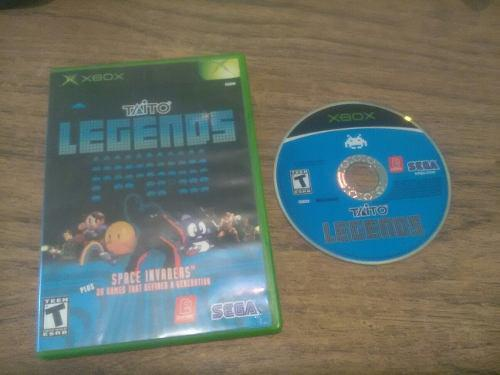 Taito Legends Xbox Clásico