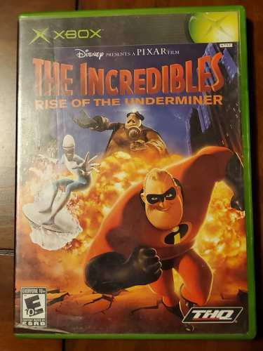 The Incredibles Rise Of The Underminer Xbox Clasico