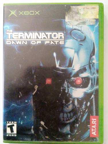 The Terminator Dawn Of Fate Xbox Clasico Original