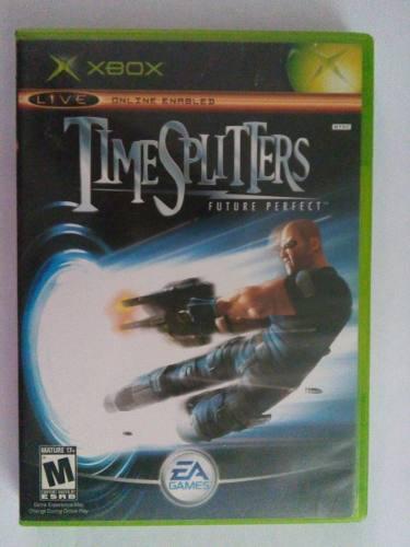 Time Splitters Future Perfect Xbox Clasico Original