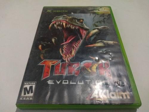 Turok Evolution Xbox Clasico
