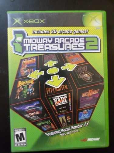 Video Juego Xbox Clasico Midway Arcade Treaseres 2 Funcionan