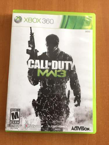 Videojuego Xbox 360 Call Of Duty Modern Warfare 3