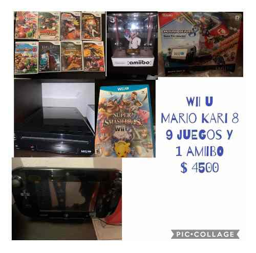 Wii U Mario Kart 8 Deluxe Set
