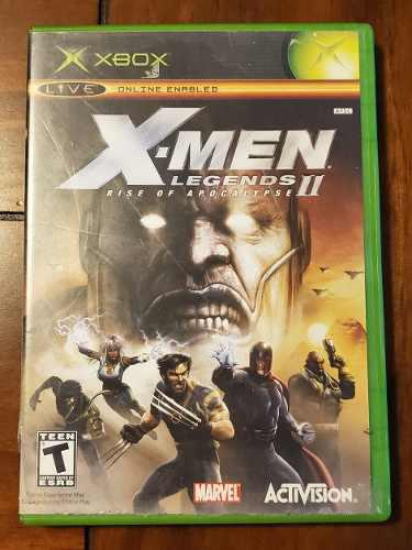 X-men Legends Ll Rise Of Apocalypse Xbox Clasico