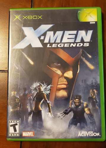 X-men Legends Xbox Clasico