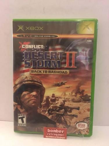 Xbox Clasico Conflict Desert Storm 2
