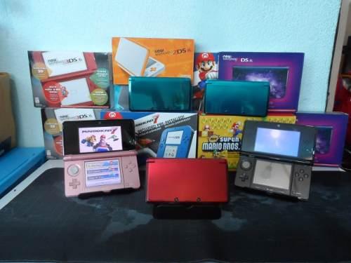 3ds + 200 Juegos Pokemon 3d + 75 Temas 32gb Envio Gratis