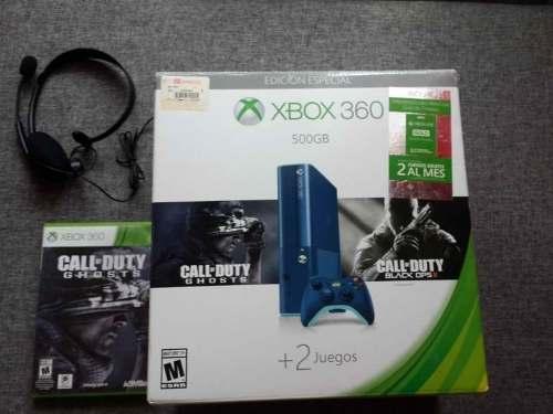 Consola Xbox 360 Edición Especial Call Of Duty Ghosts