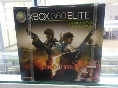 Consola Xbox 360 Edición Limitada Resident Evil 5 Nuevo!!!