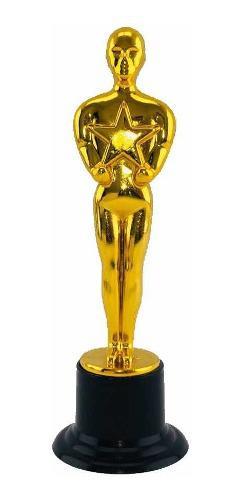Estatuilla Trofeo Premio Oscar Temática Fiesta Evento