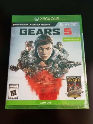 Gears 5 Para Xbox One Nuevo Y Sellado