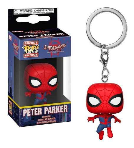 Llavero Funko Peter Parker Spiderman Original Env Gratis !