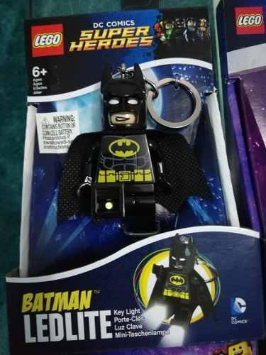 Llavero Lego Lámpara Luz Led Batman