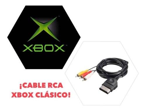 Lote 5 Pz Rca Cable Audio Video Consola Xbox Clásico Nuevo